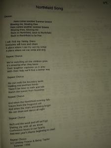 Northfield Song